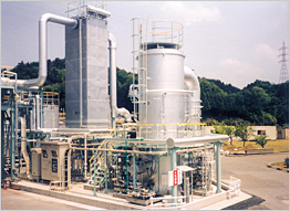 Incinerator for Waste Liquid & Gas | Environmental Plant Sector